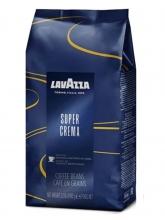 Кофе в зернах Lavazza Super Crema (Лавацца Супер Крема)  1 кг, вакуумная упаковка
