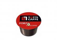 Кофе в капсулах Totti Caffe Forza (Тотти Кафе Форза), упаковка 100 капсул, формат Lavazza BLUE