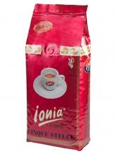Кофе в зернах Ionia Cinque Stelle (Иония 5 звёзд) 1 кг, вакуумная упаковка