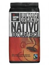 Кофе в зернах Goppion Nativo (Гоппион Нативо), органически чистый кофе,  1 кг, вакуумная упаковка