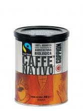 Кофе в зернах Goppion Caffe Nativo (Гоппион Кафе Нативо), органически чистый кофе,  250 г, металлическая банка
